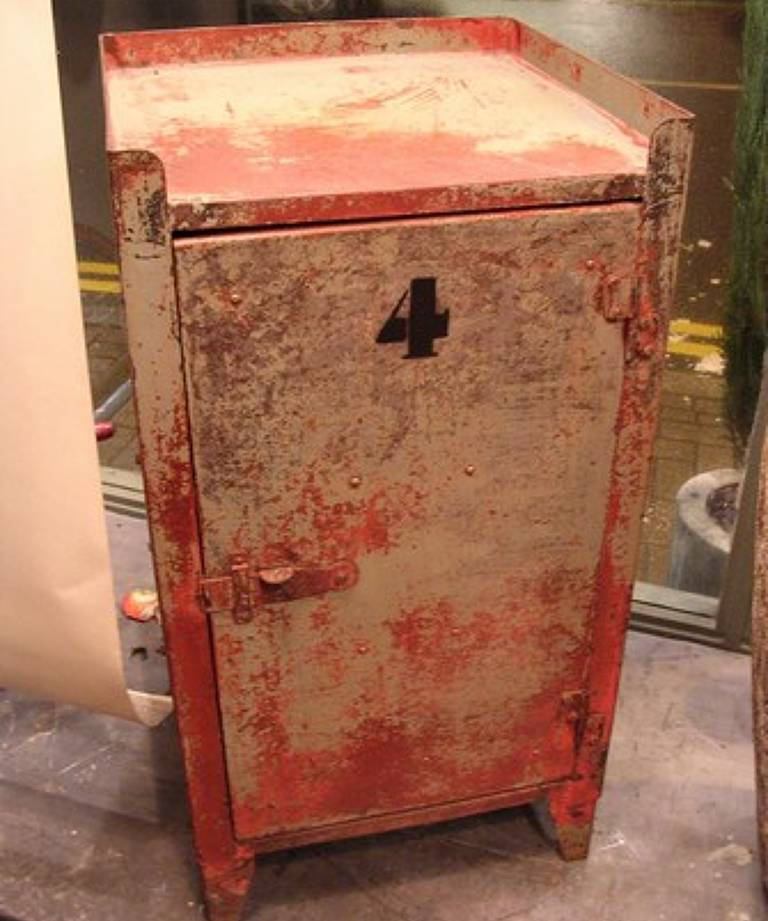Painted industrial cabinet