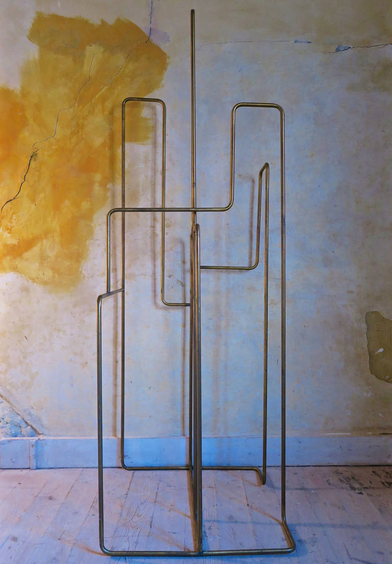Brass Clothes Stand