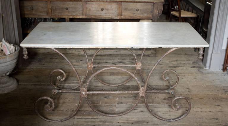 Boucherie table