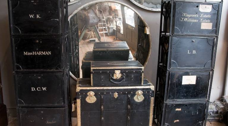 Pair of Solicitors cabinets