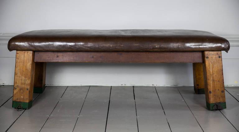 Vintage gym bench