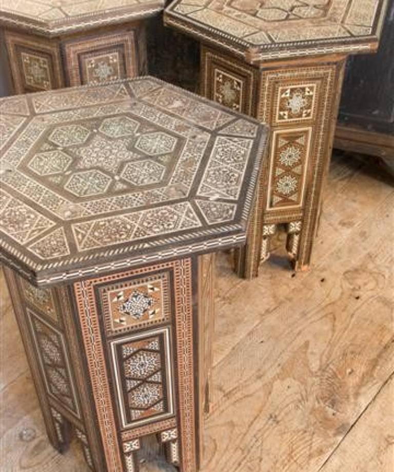 Maroccan tables