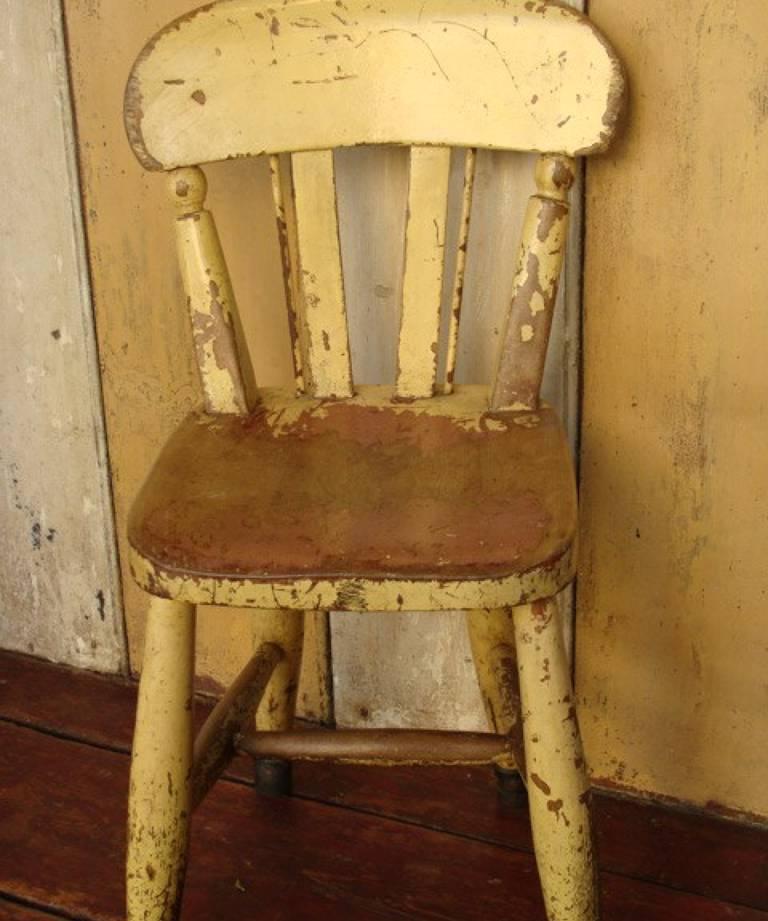 Child`s chair