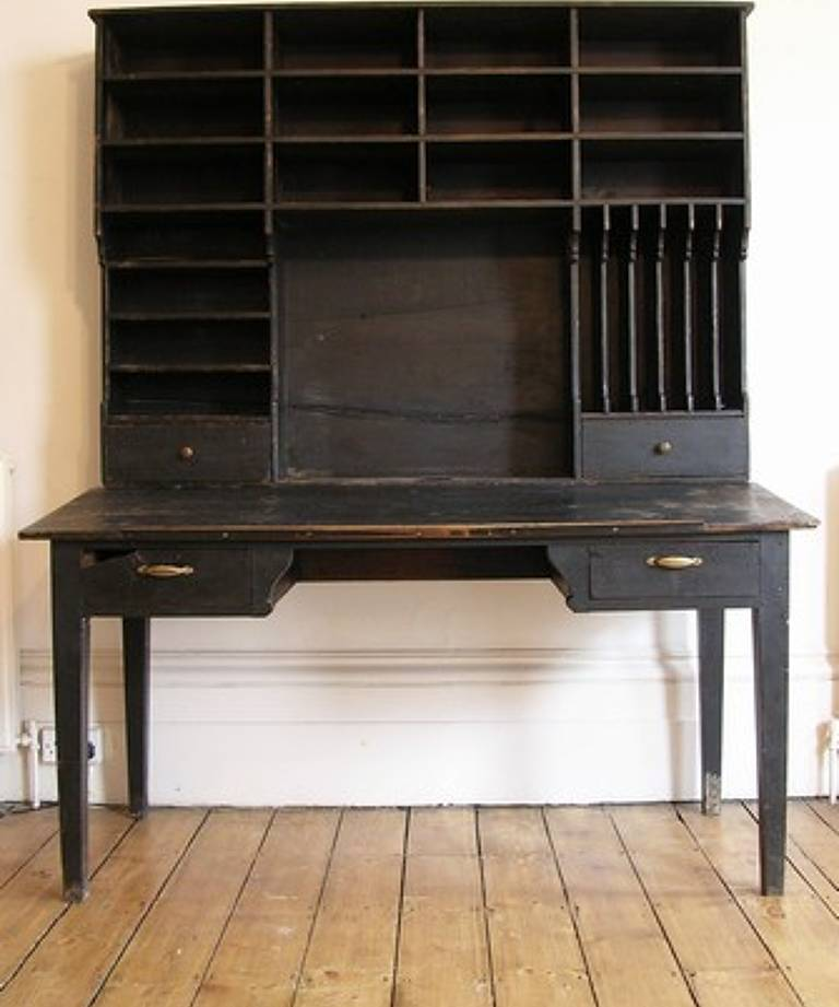 19th century solicitor`s desk
