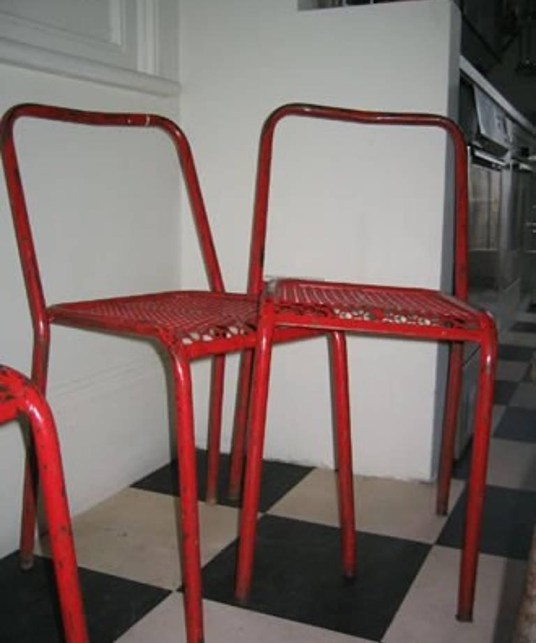 Set 4 chairs circa 1950