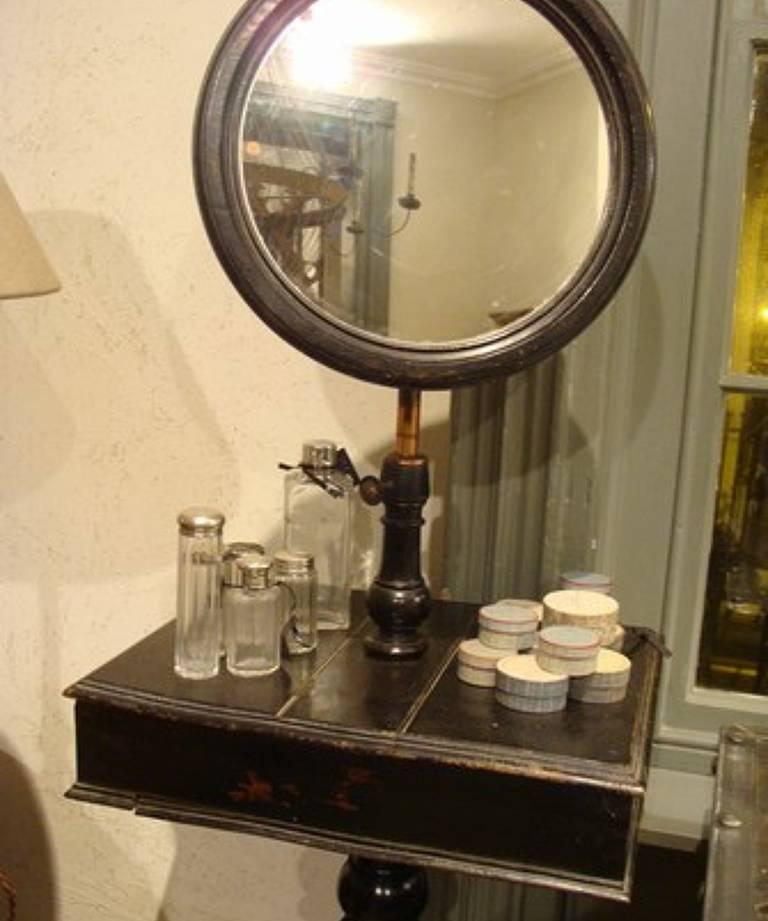 Gentleman`s shaving stand