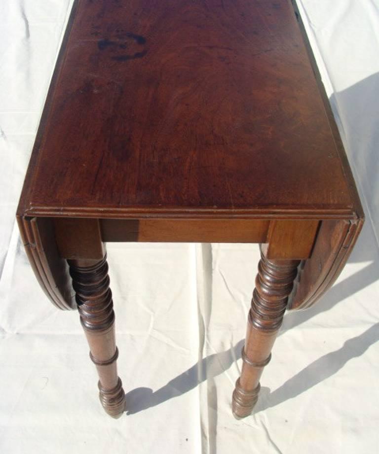 Regency drop-leaf table