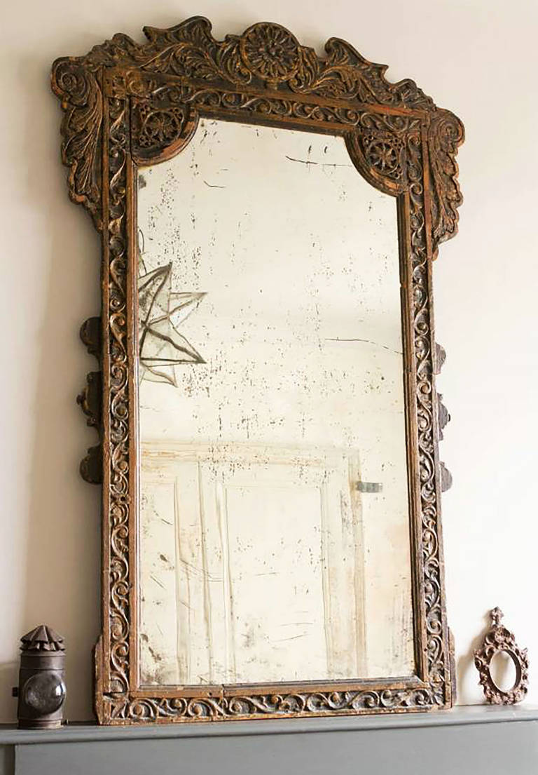 French-Moroccan Mirror