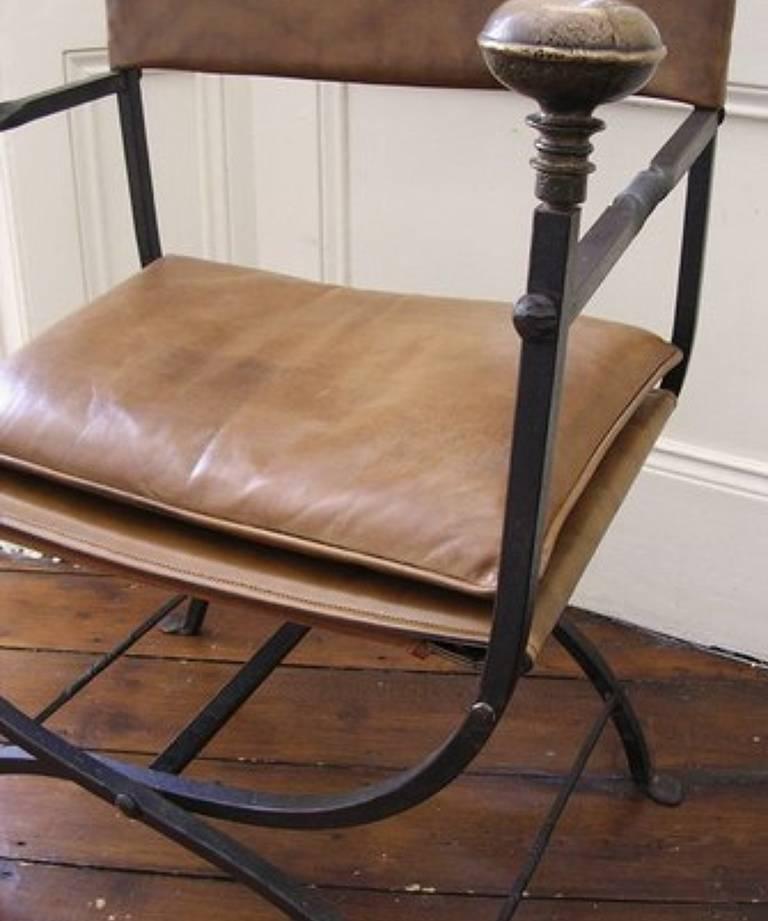 Pair throne chairs