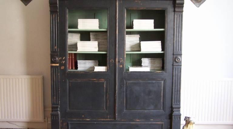 19th c bookcase