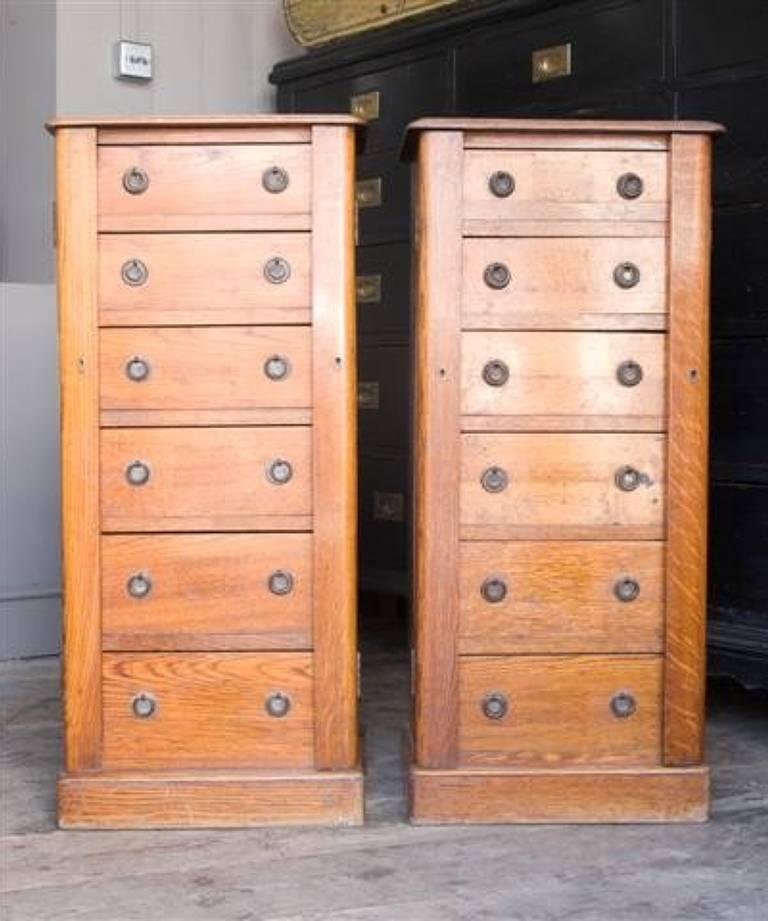 Pair wellington chests