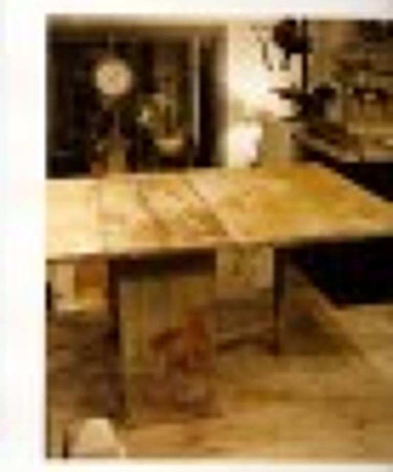 Swedish folding table circa 1800