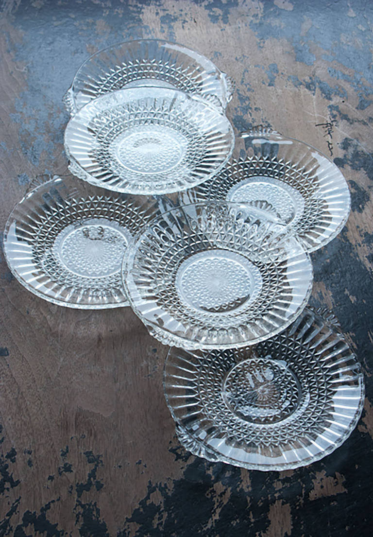 Glass sweet dishes