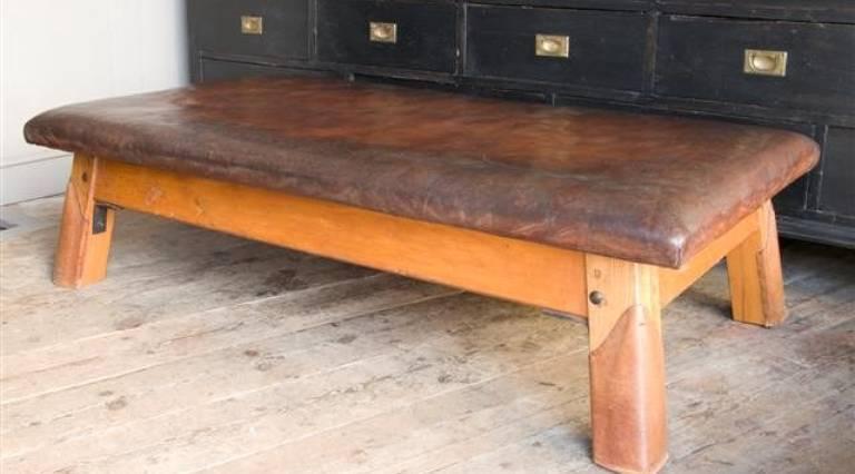 Large gym bench