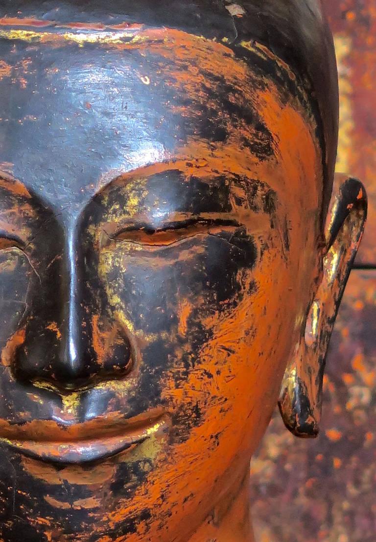 Pair Burmese Buddhist Monks