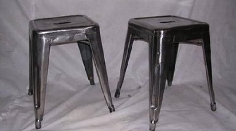 French navy stools