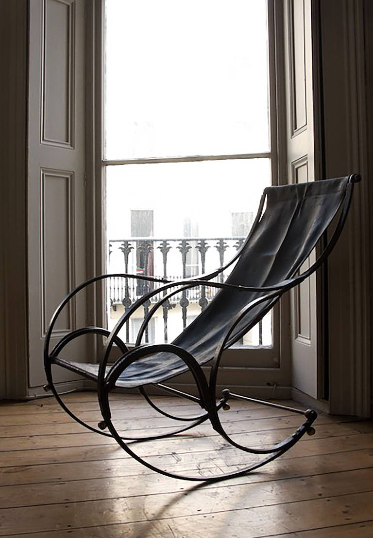 Victorian Iron Rocking Chair