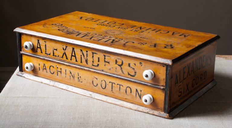 Machine cotton box