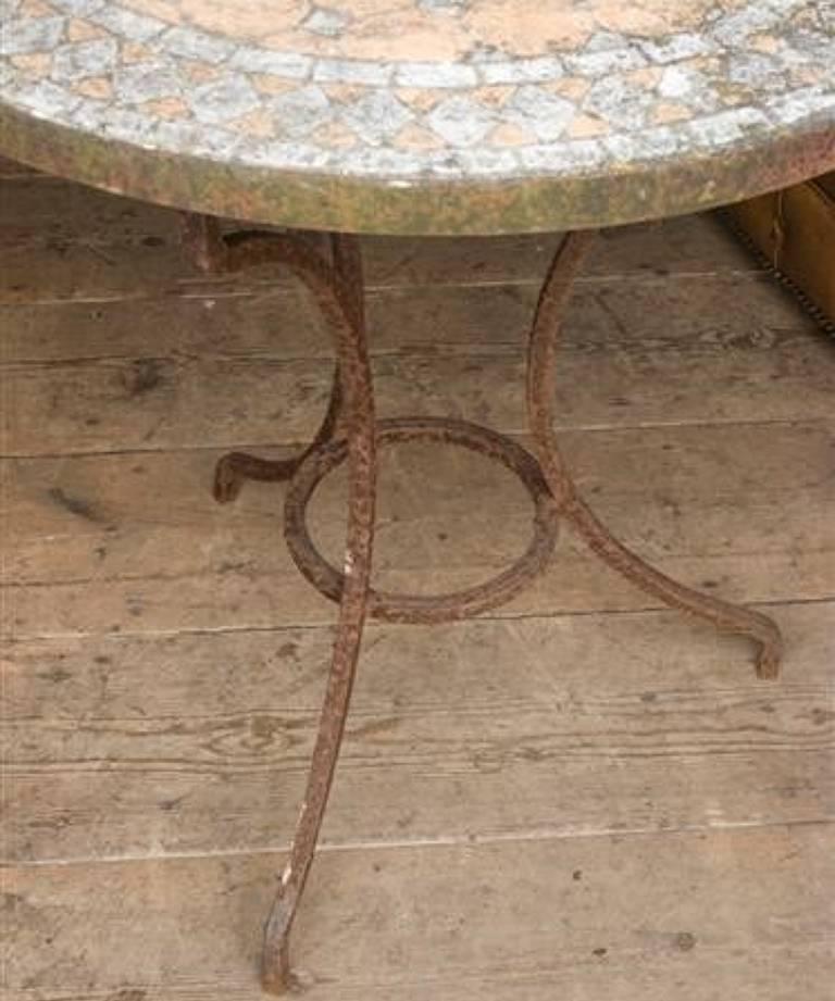 Pair garden tables