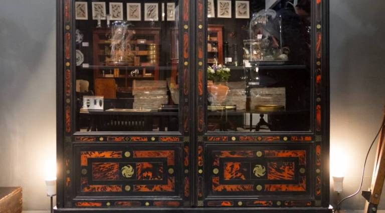 Pair of Napoleon 3rd bookcases