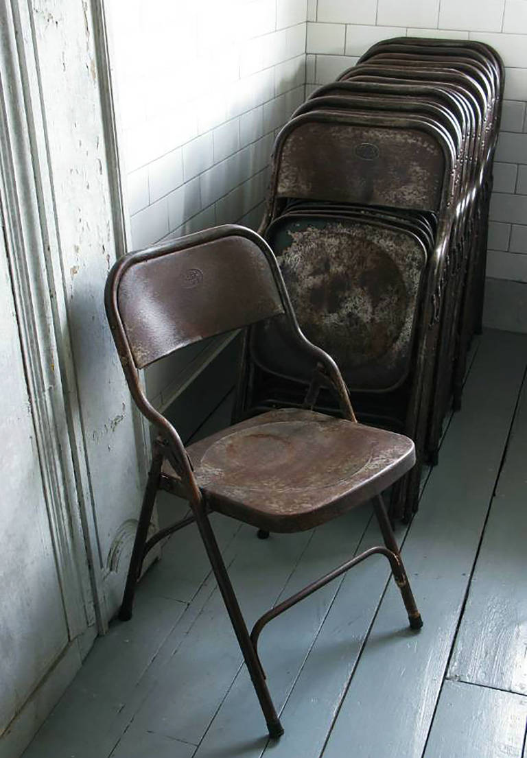 Industrial Folding Chairs