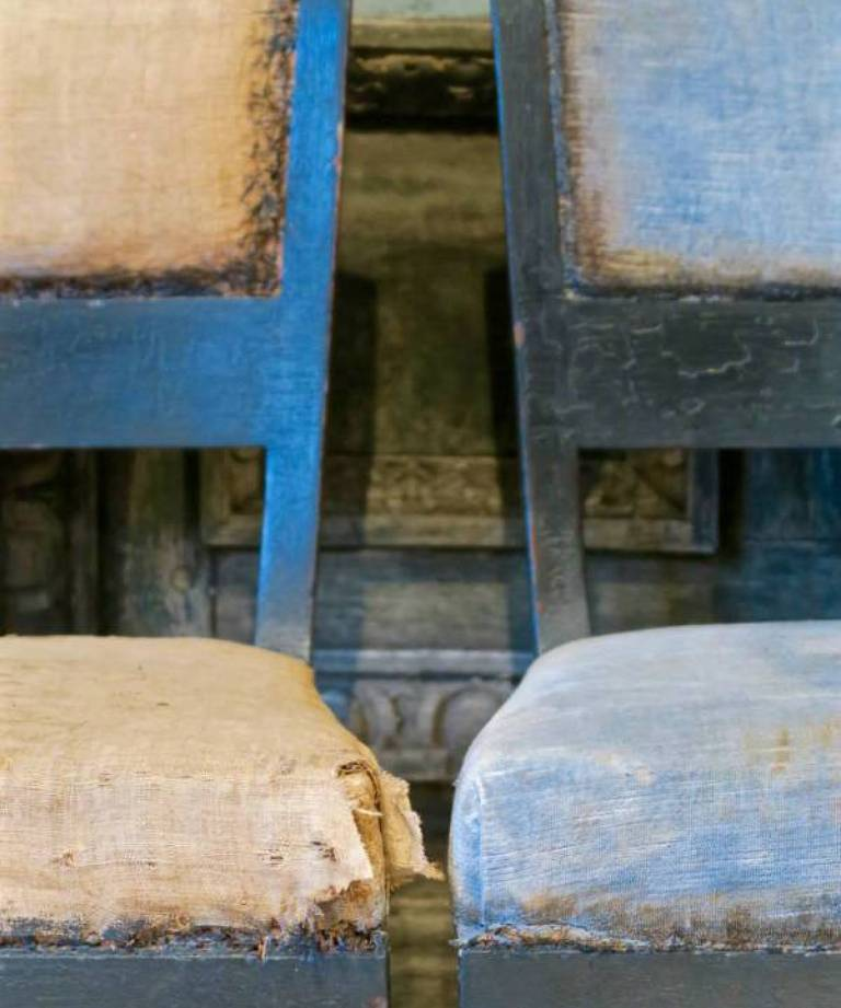 6 Directoire chairs