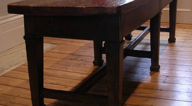 18th century english refectory table