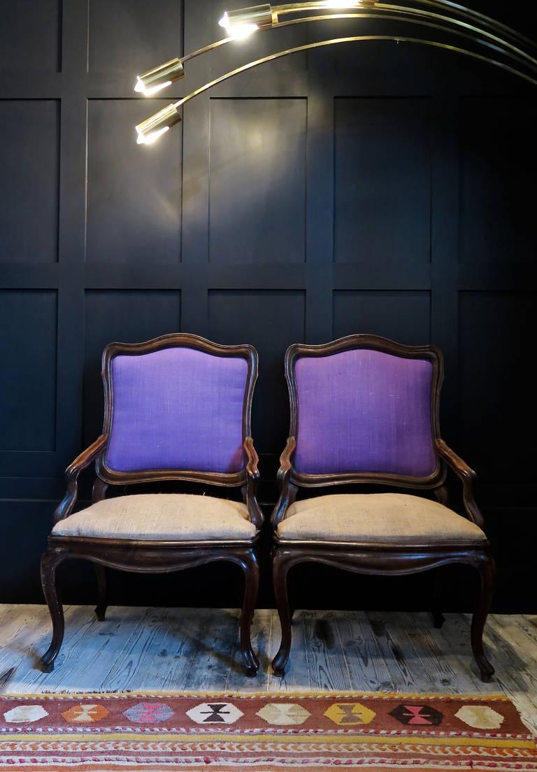 Pair Armchairs, circa 1920