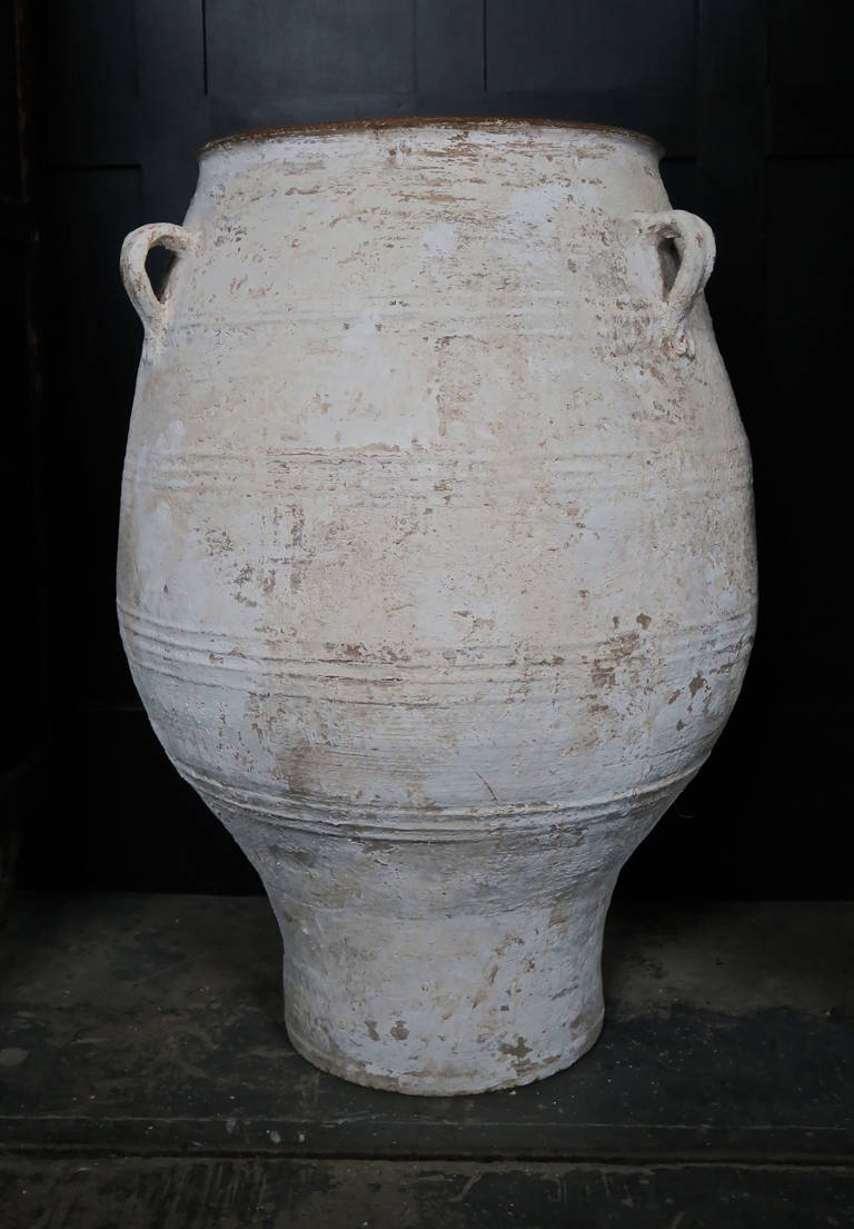 GREEK TERRACOTTA OLIVE OIL POT