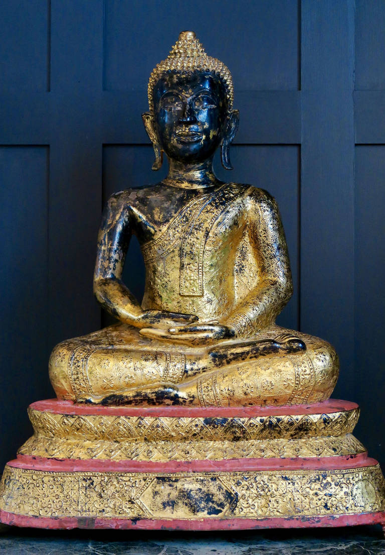 19th Century BRONZE BUDDHA