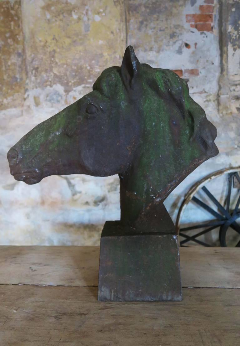 Iron horse heads