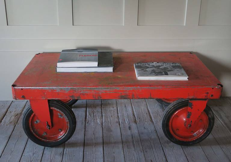 Eastern European Industrial Trolley Tables