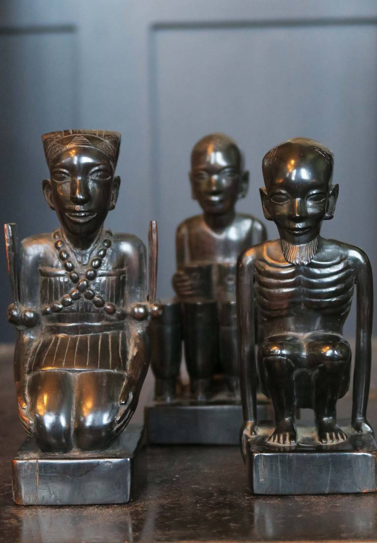 Set of 3 African Figures