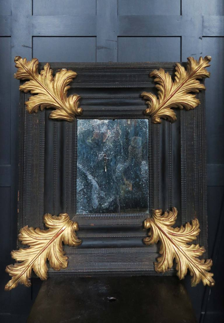 17th century Italian ripple mirror