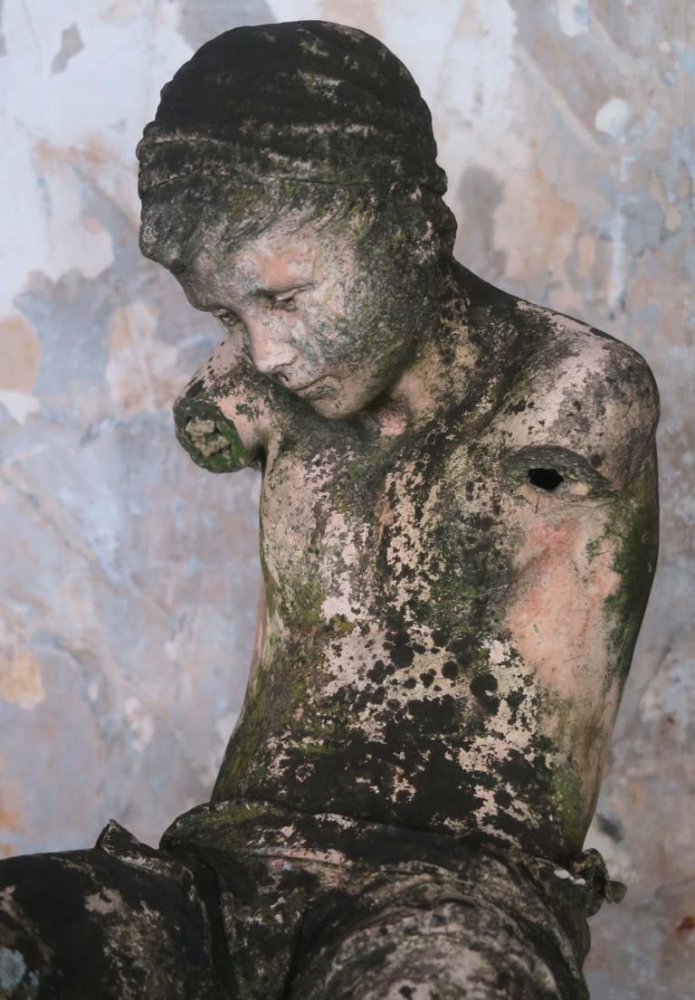 19th century terracotta boy