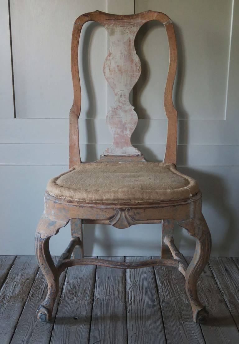 Rococo Chair, Sweden, circa 1770