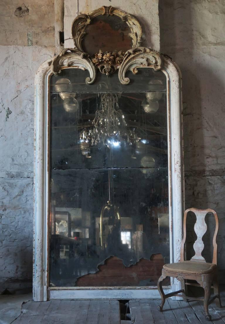 Extraordinary Mirror, Italy circa 1850