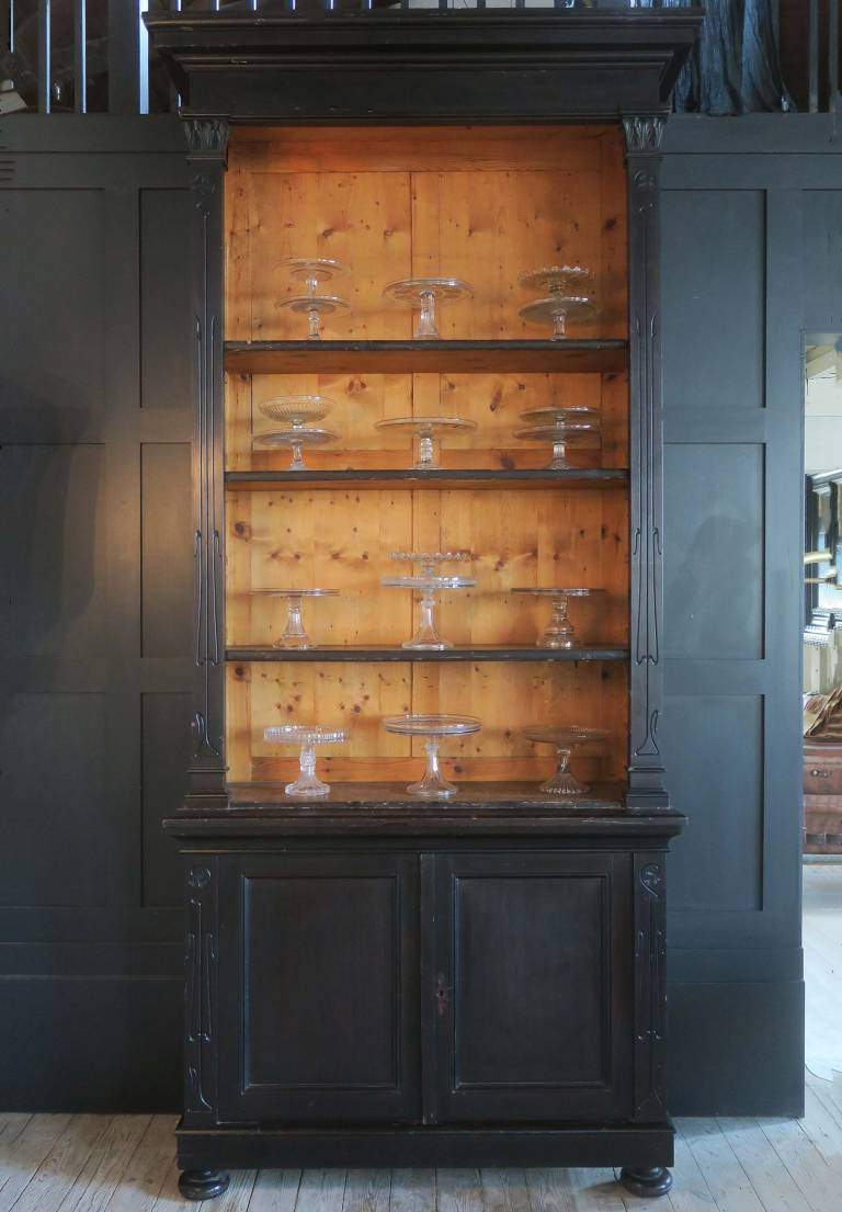 19th Century Tall Bookcase