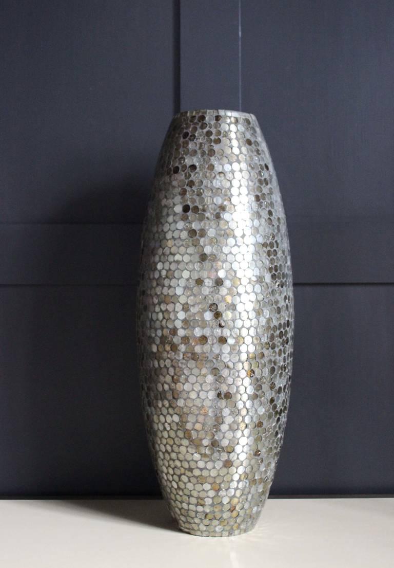 Mirrored Vase, circa 1960, Italy