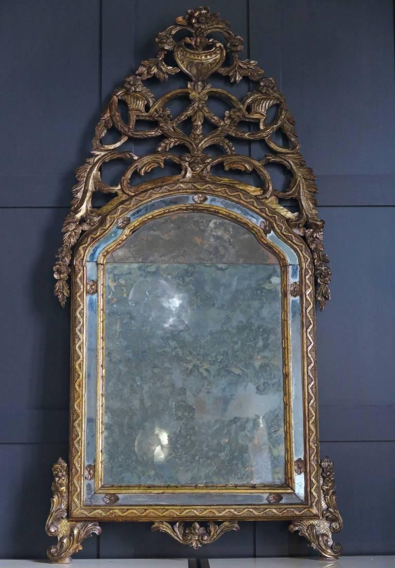 Mirror, Piemonte, Italy, circa 1730