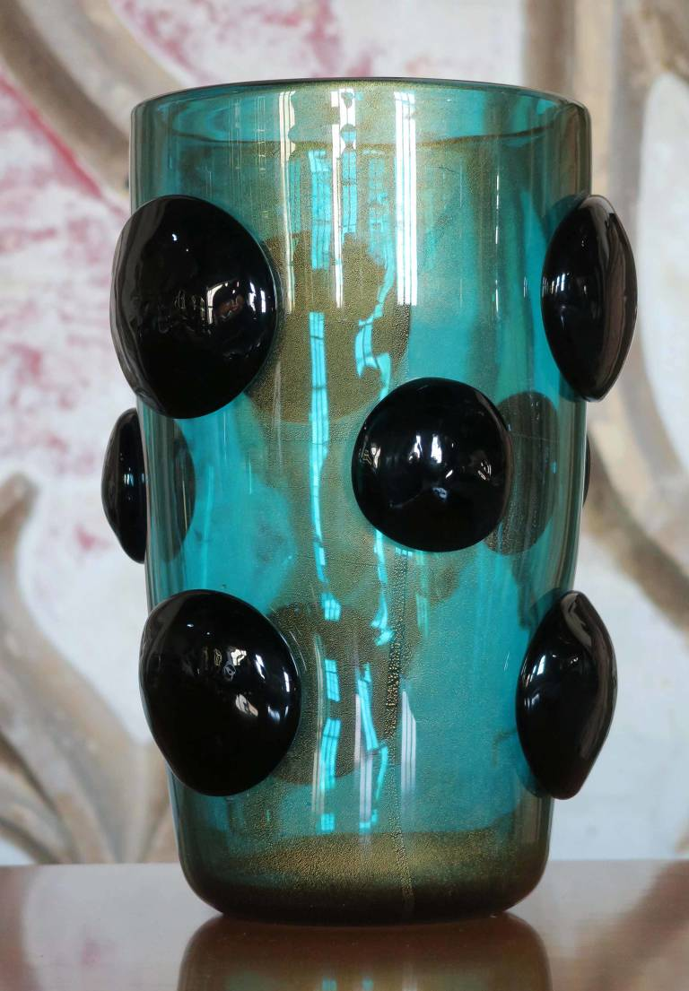 Donghia Murano Vase, late 20th C Italy
