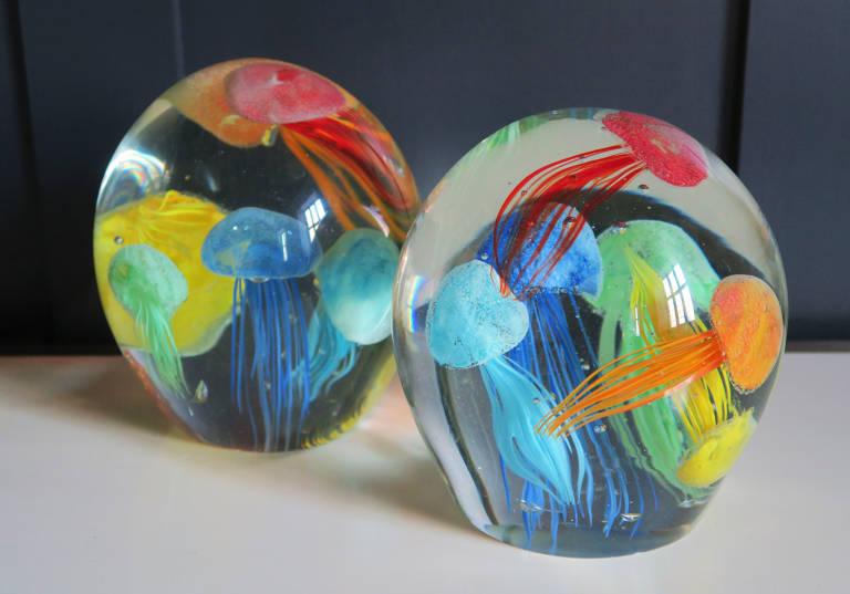 Jellyfish Paperweights