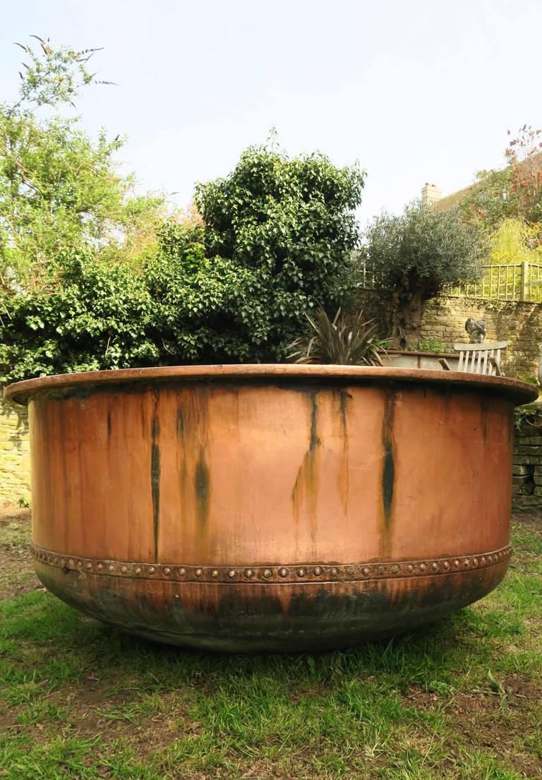 Large Copper Cheese Vat, 19th Century, France