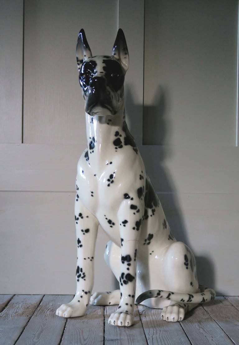 Lladro Hispania Great Dane  circa 1980, Spain