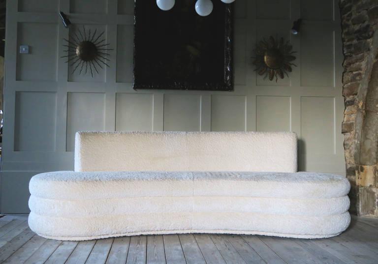 Contemporary Curved Sofa, Italy